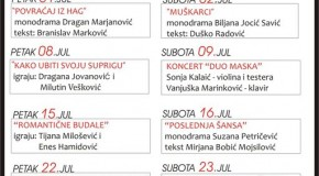 Program KULTURNO LETO 2011. – jul