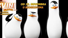 3D CINEMA – Pingvini sa Madagaskara