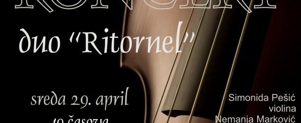 """Koncert – Duo """"Ritornel"""""""