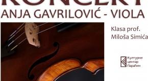 Koncert za violu Anje Gavrilović