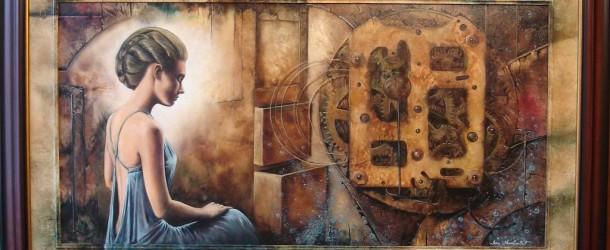Otvaranje izložbe slika Dejana Milivojevića