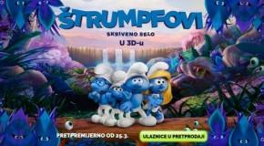 """PREMIJERA ANIMIRANOG FILMA """"ŠTRUMPFOVI:SKRIVENO SELO 3D"""""""