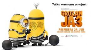"PREMIJERA ANIMIRANOG FILMA ""GROZAN JA 3″ (3D sinhronizovano)"