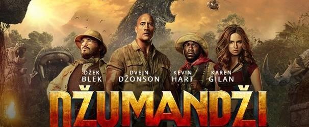 """PROJEKCIJA FILMA """"DŽUMANDŽI: DORODOŠLI U DŽUNGLU 3D"""""""