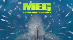 """PROJEKCIJA FILMA """"MEGALODON – PREDATOR IZ DALEKIH DUBINA 3D"""""""