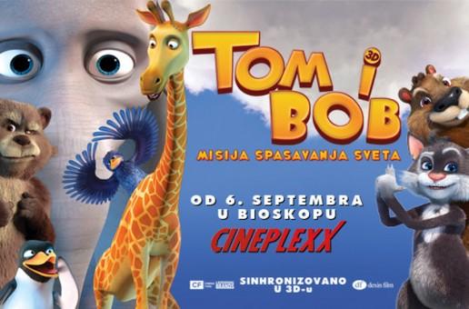 """PREMIJERA ANIMIRANOG FILMA """"TOM I BOB"""""""