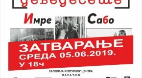 """Zatvaranje izložbe fotografija """"Devedesete"""" Imre Szabó"""