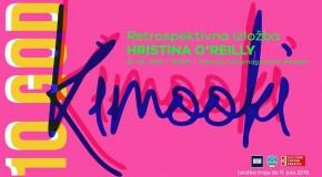 """Otvaranje retrospektivne izložbe """"Kimooki – 10 godina /  Hristina O'Reilly"""""""