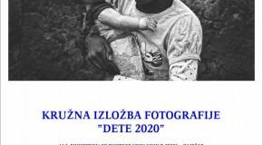 """KRUŽNA IZLOŽBA """"DETE"""" 2020."""